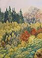Weidemann Magnus 1880 - 1967 Wooded landscape in, Magnus Weidemann, Click for value