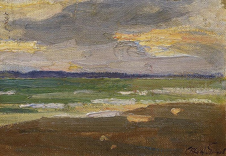 Engel Otto Heinrich 1866 - 1949 View over the