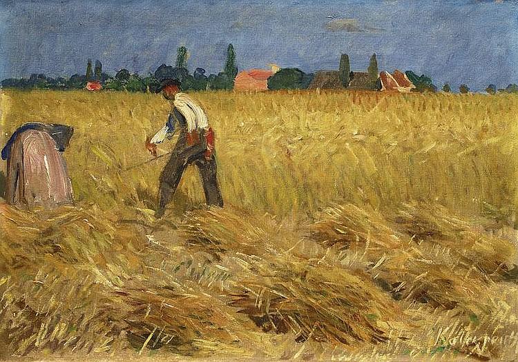 Kalckreuth Leopold Graf von 1855 - 1928 Grain