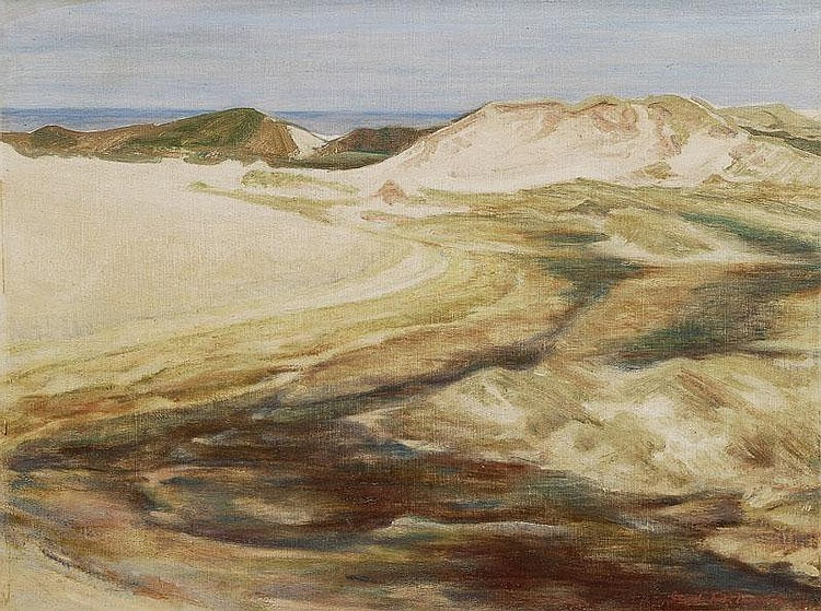 Hilmers Carl 1891 - 1978 Dunes on Sylt