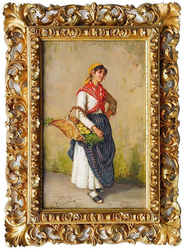 Petrocelli Arturo Neapel 1856 Neapel 1926 Young