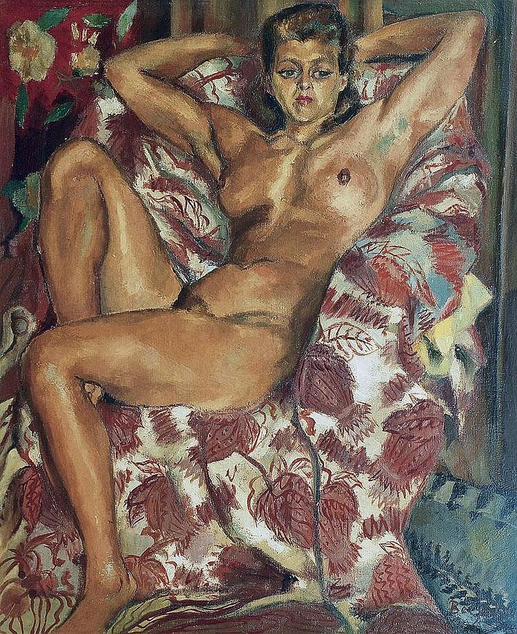 Berjole Pierre Saumur 1897 1990 Female nude