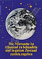 Staeck Klaus Pulsnitz 1938 5 signed posters, Klaus Staeck, Click for value