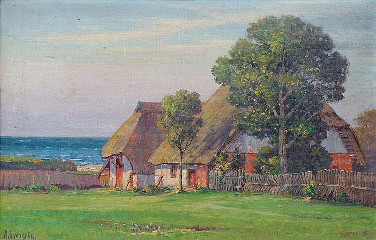 Lyongrün Arnold (Domnau/Ostpr. 1871 - Hamburg 1935