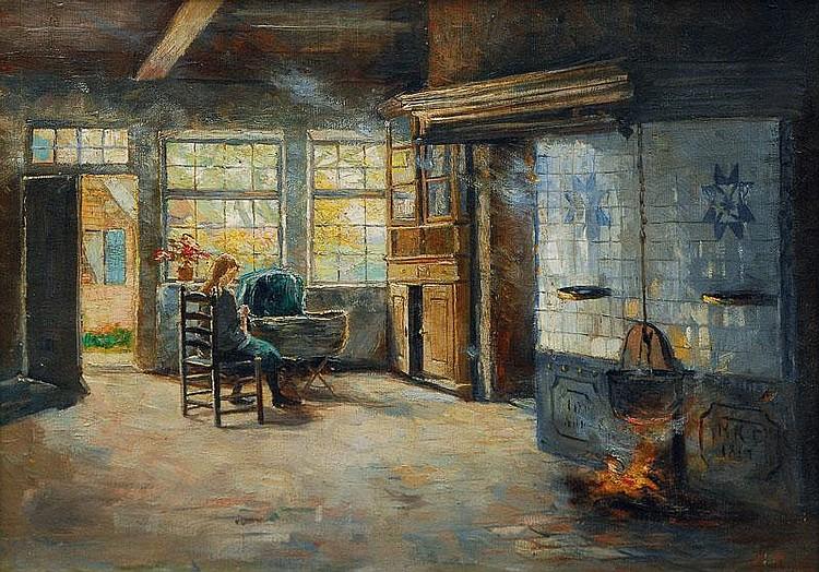 Ruths Amelie (Hamburg 1871 - Hamburg 1956 ) Young