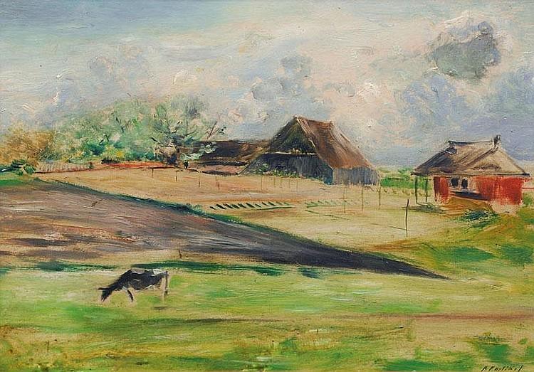 Partikel Alfred (Goldap/Ostpr. 1888 - Ahrenshoop