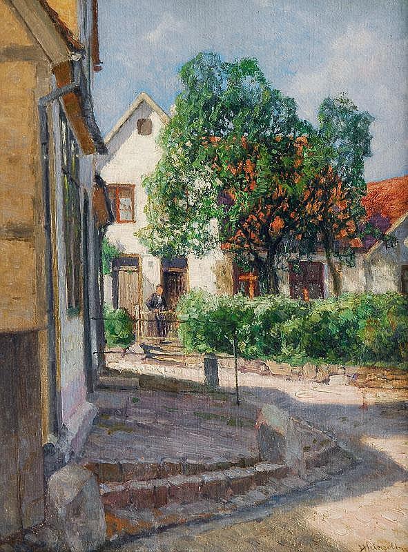 Meinzolt Georg M.. Hamburg 1863 - 1948 Bad Doberan