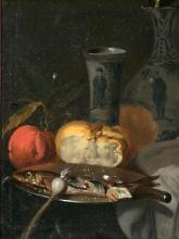 Juriaen van Streeck (Amsterdam 1632 - Amsterdam 1687), follower of. Still Life with Chinese Vase.