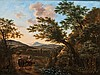 Southern Landscape with Travellers, Willem Heusch, Click for value
