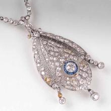 An Art Déco diamond necklace