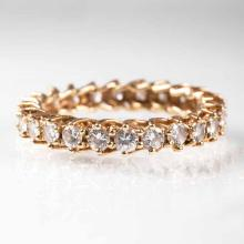 A memory diamond ring