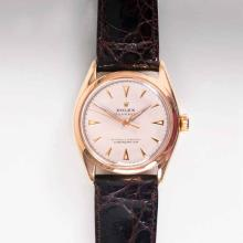 Rolex  ret. 1908 <br>A Vintage Gentleman's watch 'Oyster Perpetual'