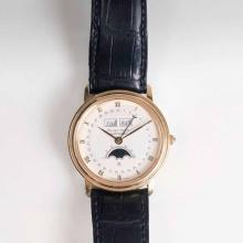 BlancPain  est. 1735 in Villeret <br>A gentleman's watch with moonphase
