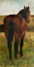 Thomas Herbst (Hamburg 1848 - Hamburg 1915). Standing Horse.
