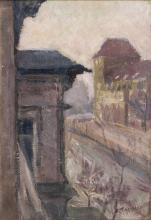 Waldemar Rösler (Striesen/Dresden 1882 - Arys/Ostpreußen 1916). Mansions in Berlin.
