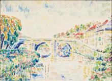 Moritz Melzer (Albendorf 1877 - Berlin 1966). Bridge.