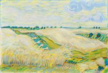 Fritz Kronenberg (Köln 1901 - Hamburg 1960). Summer Landscape.