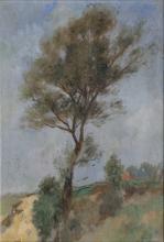 Thomas Herbst (Hamburg 1848 - Hamburg 1915). Tree.