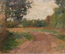 Thomas Herbst (Hamburg 1848 - Hamburg 1915). Country Road.