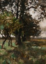 Thomas Herbst (Hamburg 1848 - Hamburg 1915). Landscape.