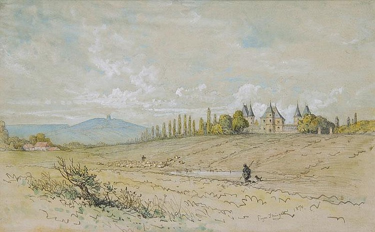 Extensive Landscape with Palace