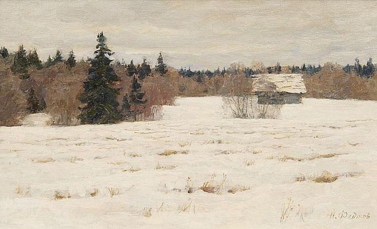 Field in the Snow