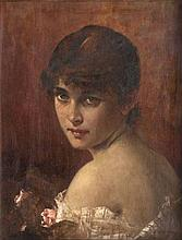 Conrad, Kiesel  Düsseldorf 1846 - Berlin 1921  <br>Portrait of a Lady