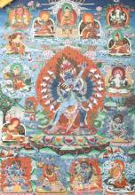 A Thangka of Hevajra