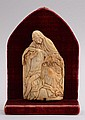 FRANCO FLEMISH CARVED IVORY RELIEF PLAQUE: