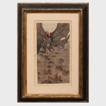 Attributed to Alexander Bogomazov (1880-1930): Untitled