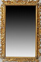 French Carved Giltwood Mirror