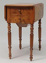 Victorian Walnut Pembroke Style Side Table