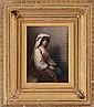 EASTMAN JOHNSON (1824-1906): BOHEMIAN GIRL