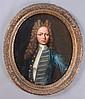JOHN VERELST (1648-1734): PORTRAIT OF YOUNG NOBLEMAN IN BLUE