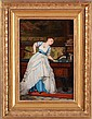 CHARLES ÉOUARD BOUTIBONNE (1816-1897): AN ELEGANT BILLIARD PLAYER