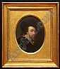 CONTINENTAL SCHOOL, PORTRAIT OF A GENTLEMAN Oil on artistboa, Mario Puccini, Click for value