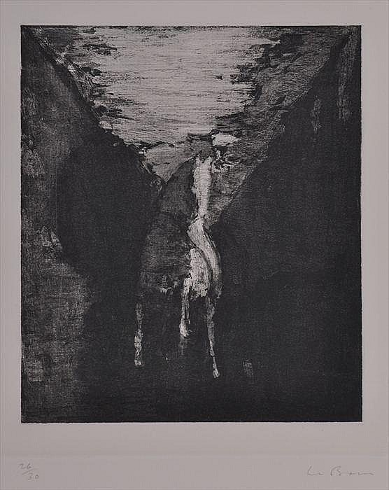 CHRISTOPHER LE BRUN (b. 1951): UNTITLED NO.XVIII, FROM THE