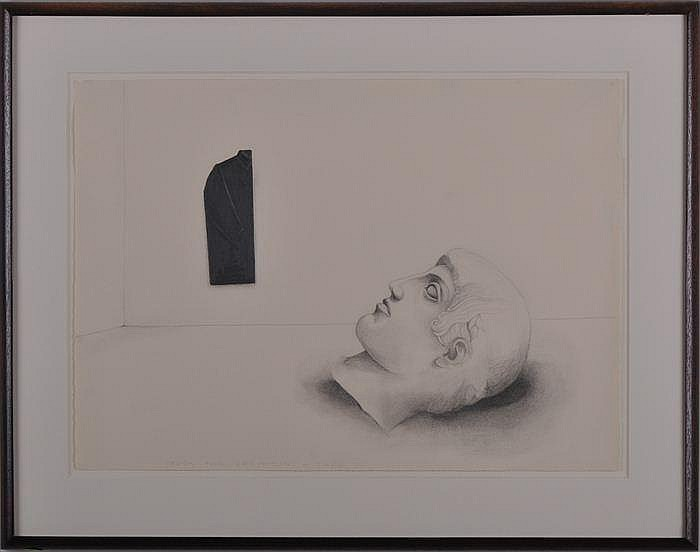JUDITH SHEA (b. 1948): MALE PERSONA STUDY
