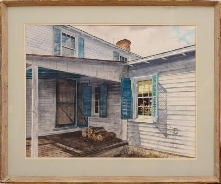 JOHN CHUMLEY (1928-1984): THE BACK PORCH