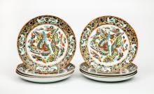 Set of Eight Chinese Porcelain