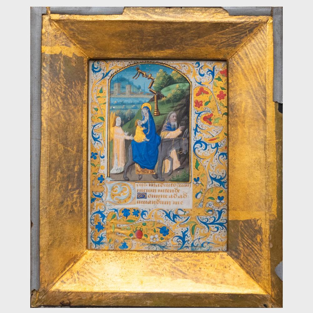 Illuminated Manuscript Procédé