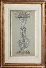 ALBERT-ERNEST CARRIER BELLEUSE (1824-1887): STUDY OF A TORCHÈRE