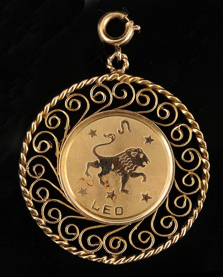 TWO 14K GOLD CHARMS
