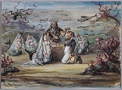 GEORGE BRANDT BRIDGMAN (1864-1943): THREE