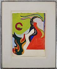 Ron Gorchov (b. 1930): Untitled