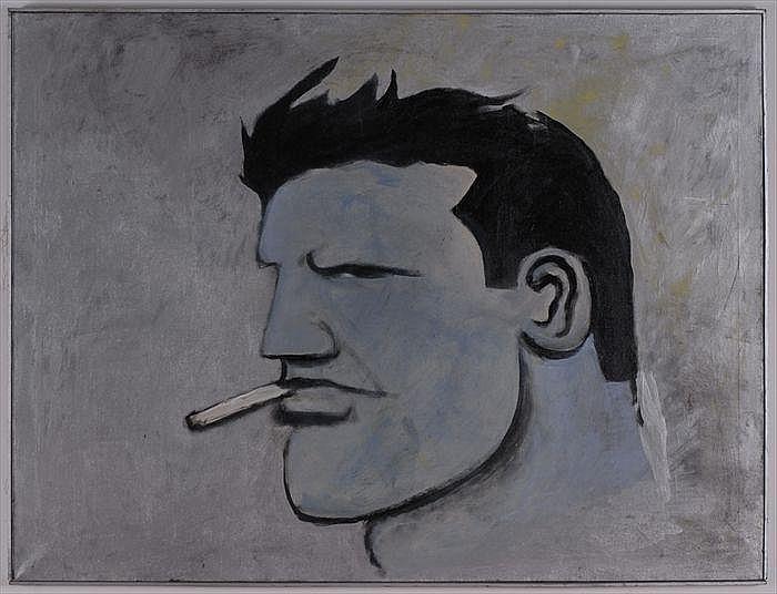 ROBERT LOUGHLIN (b. 1949): BIG BLUE
