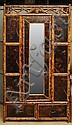Late Victorian Anglo-Japanese Bamboo and Lacquer Wardrobe