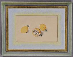 ATTRIBUTED TO FRANZ X. GRUBER (AUSTRIAN, 1801-1862): THREE LEMONS