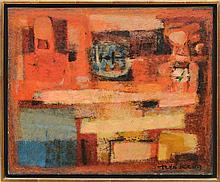 THÉO KERG (1909-1993): COLLOQUE EN ROUGE