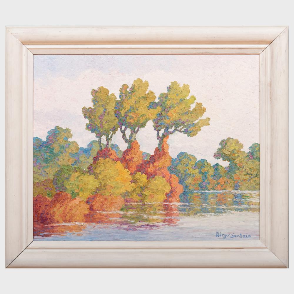 Birger Sandzén (1871-1954): Autumn Harmony